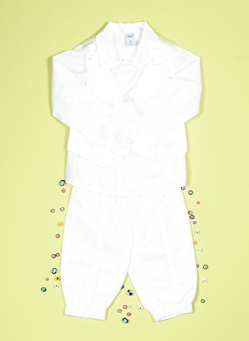 Panço 2 li Takım Beyaz